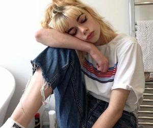 girl, grunge, and aesthetic image