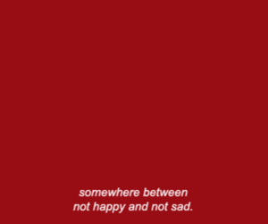 quotes, lost, and red image