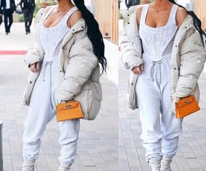 fashion, kim kardashian west, and outfit image