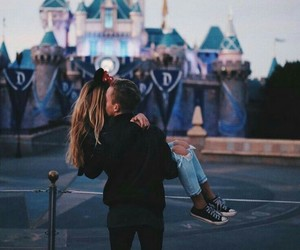 couple, Relationship, and disney image