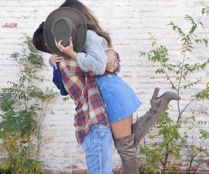 boy, woman, and boyfriend image