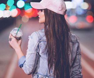 girl, tumblr, and starbucks image