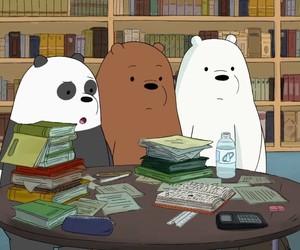 bear, cartoon, and we bare bears image