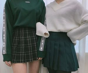 green, outfit, and fashion image