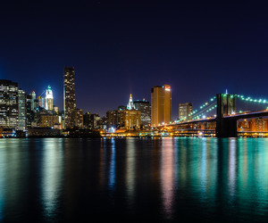 big apple, brooklyn bridge, and city image