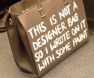 bag, aesthetic, and beige image