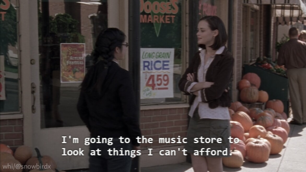 2000s, aesthetic, and gilmore girls image