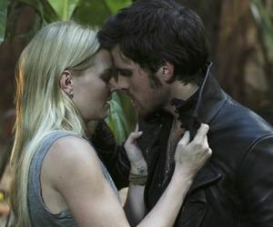 once upon a time, emma swan, and hook image