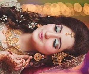 dp, makeup, and indian bride image