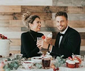 amor, comida, and dinner image