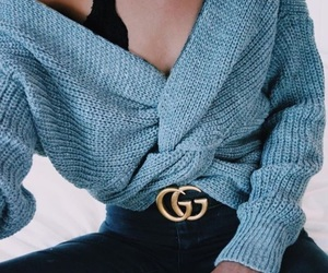 gucci, fashion, and sweater image