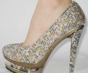 heels, shoes, and women image