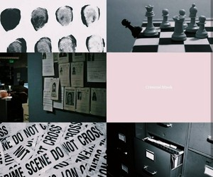 aesthetic, criminal minds, and edit image