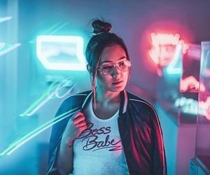 lights, neon lights, and brandon woelfel image