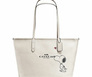 bag, purse, and snoopy image