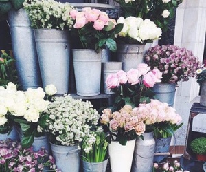 bouquets, buckets, and floral image