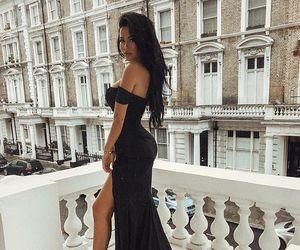 fashion, black, and body image