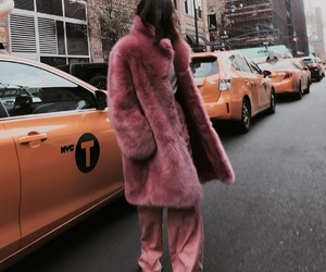 fashion, pink, and street style image