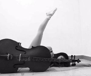 ballet, blackandwhite, and dance image