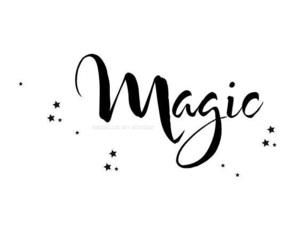 magic and one word image