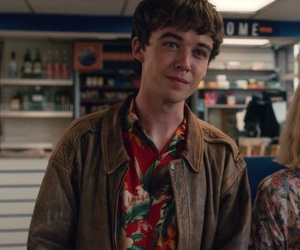 james, alex lawther, and boy image