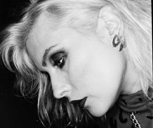 black and white, blondie, and debbie harry image