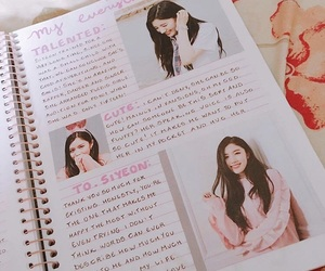 kpop, bullet journal, and pristin image