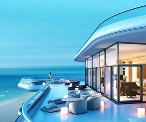 Beach front, dream home, and luxury image