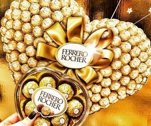 chocolate, ferrero rocher, and food image