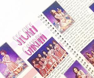 girl group, secret garden, and kpop bujo image