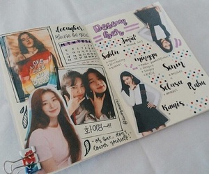 kpop, kpop journal, and kpop bujo image