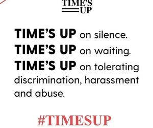 feminism and time's up image