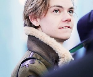 thomas sangster, the maze runner, and thomas brodie sangster image