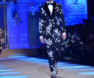 milan fashion week, ross lynch, and d&g men's image