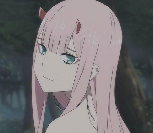 anime, zero two, and aesthetic image