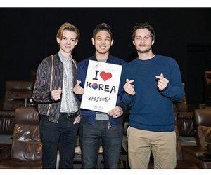 best friends, korea, and dylan o'brien image