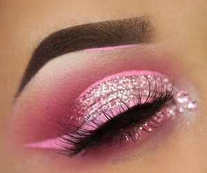 beautiful, makeup, and eye liner image