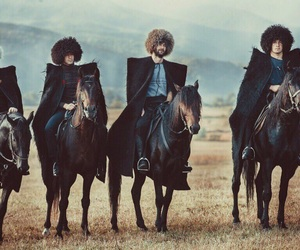 caucasus, horses, and culture image