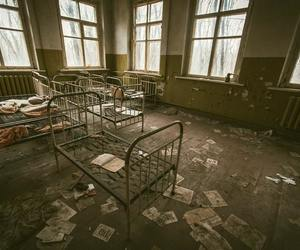 abandoned, bed, and chernobyl image