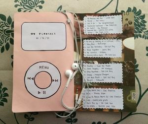 music, art, and journal image