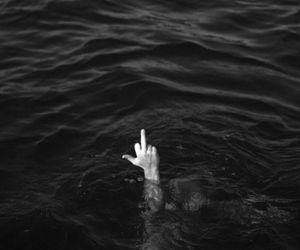 black, fuck, and ocean image