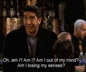 friends, ross, and ross geller image