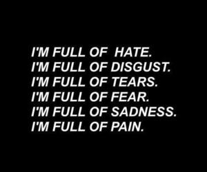 pain, sadness, and wallpaper image