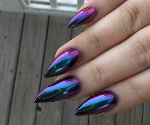 fancy, luxury, and nail image