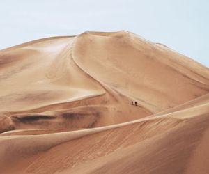 desert, sand dunes, and discworld image