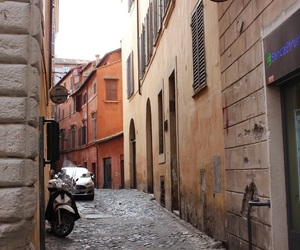 rome, street, and trip image