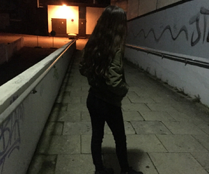 tumblr, night, and baddie image