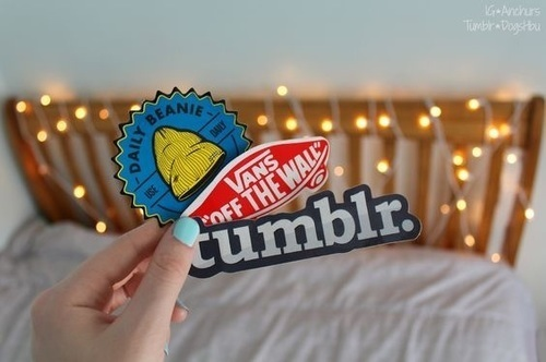 tumblr, vans, and stickers image