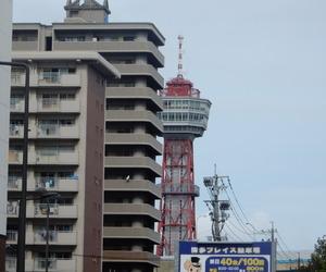 fukuoka, japan, and port tower image