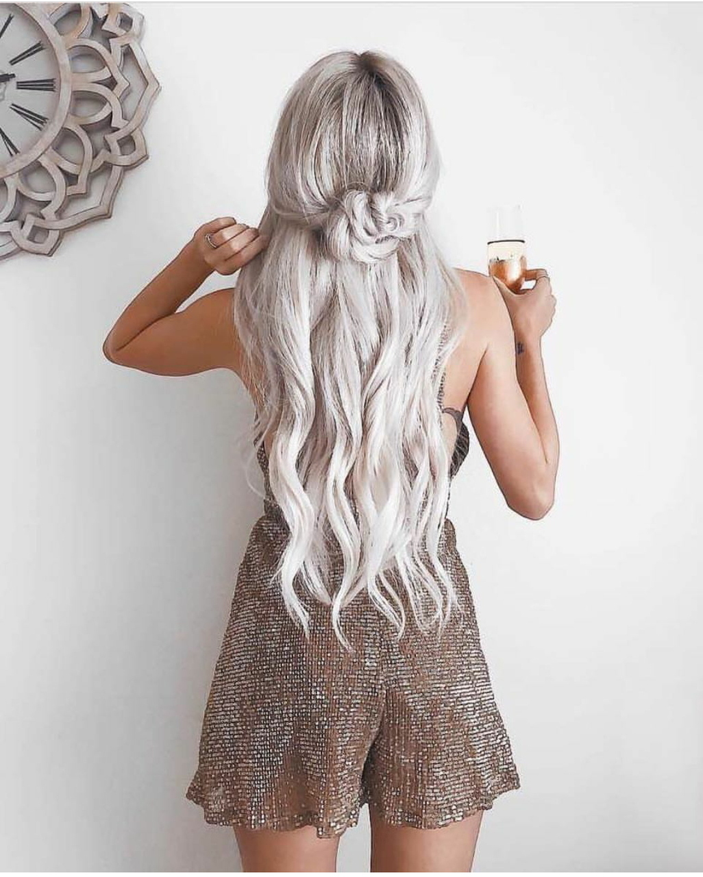 hair, fashion, and hairstyle image